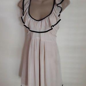 Dresses & Skirts - Cream Babydoll Dress M
